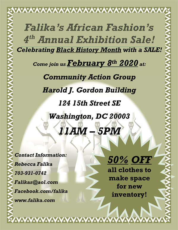 Falika's 4th Annual Exhibition Sale